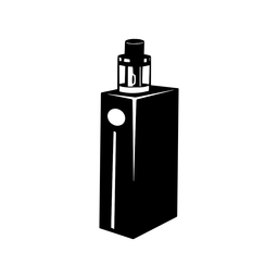 Vape e cigarette black