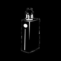 Vape e cigarrillo negro