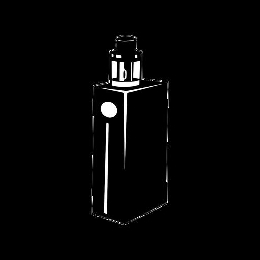 Vape e cigarro preto