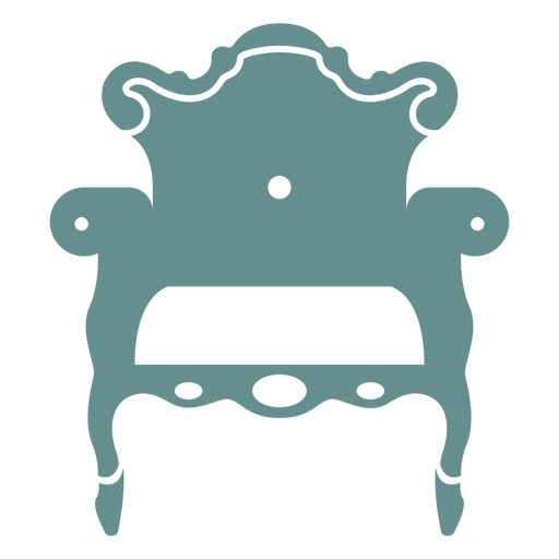 Victorian arm chair Transparent PNG