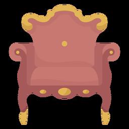 Ilustración de sillón victoriano