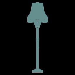 Lámpara de pie victoriana