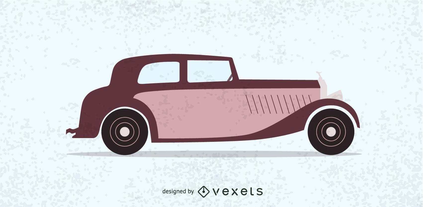 Hot Rod vintage car