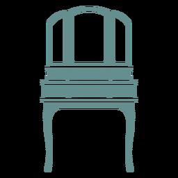 Espejo de estación de maquillaje victoriano