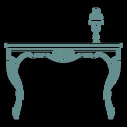 Victorian side desk
