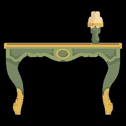Victorian side desk illustration