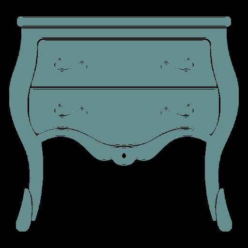 Victorian small drawer dresser