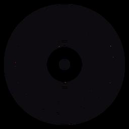 Vinyl süchtig Rekord Zitat Abzeichen