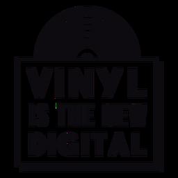 Vinilo la nueva insignia digital
