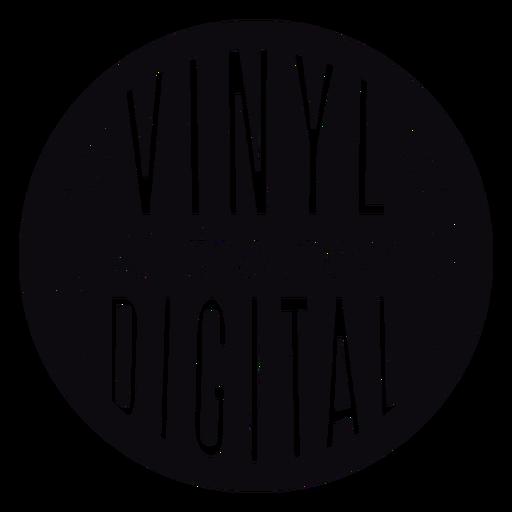 Vinyl the new digital black badge