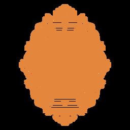 Wandspiegel verziert