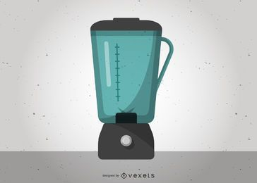 Licuadora de diseño vectorial