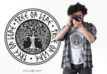 Baum des Lebens T-Shirt Design