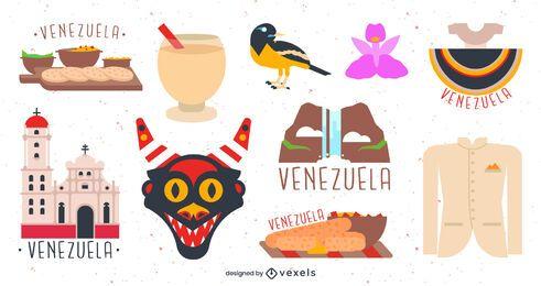Conjunto de elementos de Venezuela