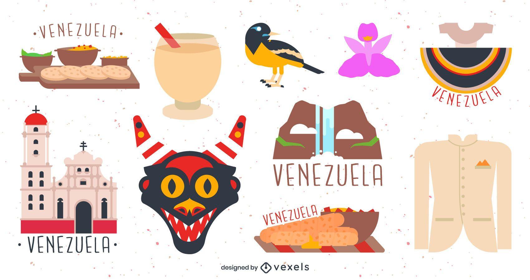 Venezuela elements set