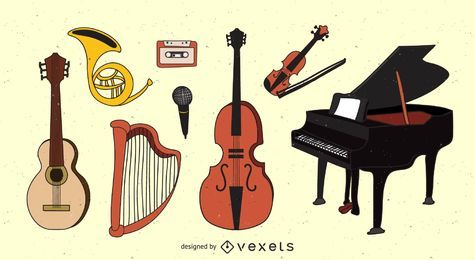 Pack de Instrumentos Musicais
