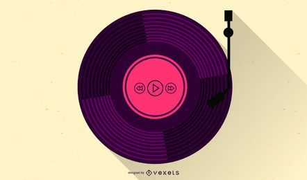 Vintage Music free vector set