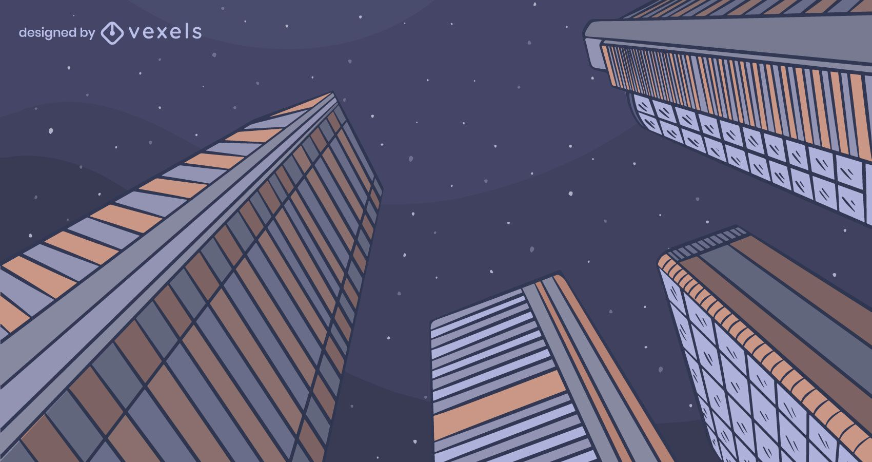 City night background design