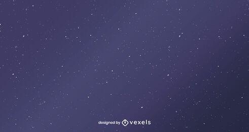 Diseño de fondo de cielo nocturno