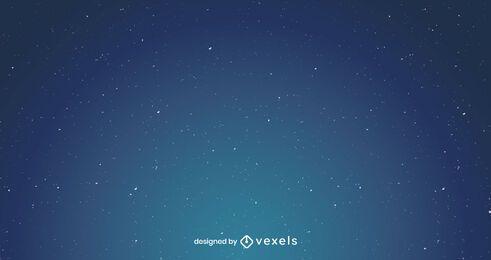 Diseño de fondo de cielo nocturno estrellado