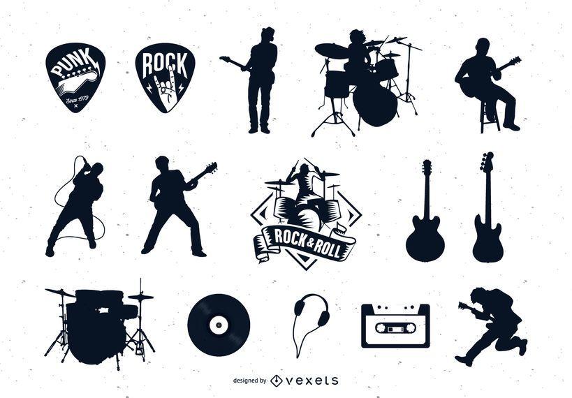 Rock Vector Collection