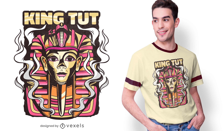 Diseño de camiseta de Tutankamón
