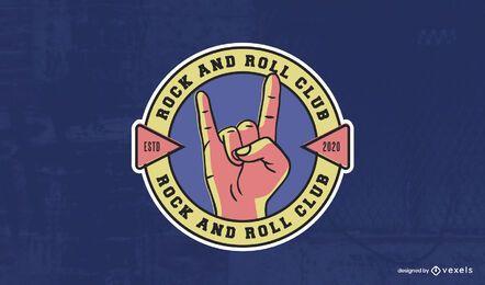 Rock'n'Roll-Club-Logo-Vorlage
