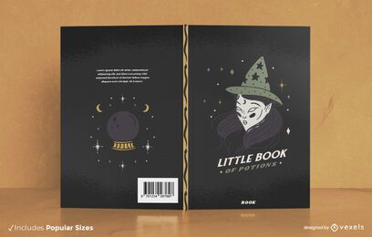 Potion Book Halloween Book Cover Design