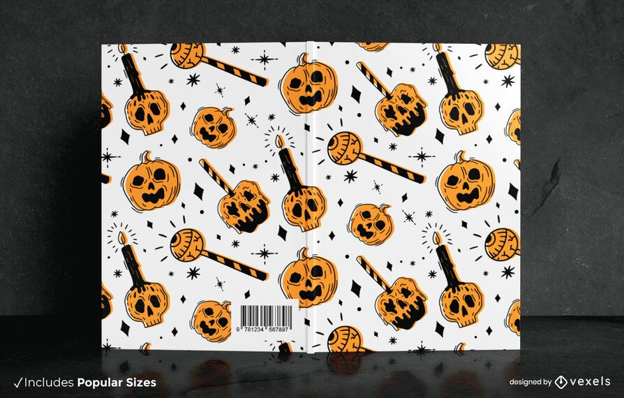Trick or Treat Book Cover Design
