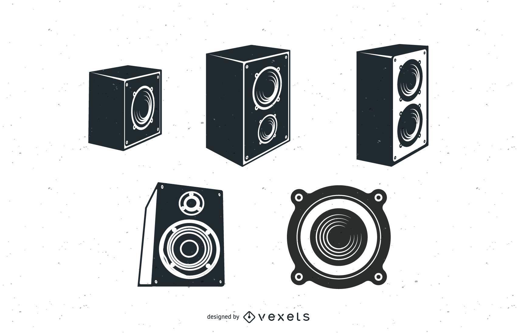 Speakers Vector Pack