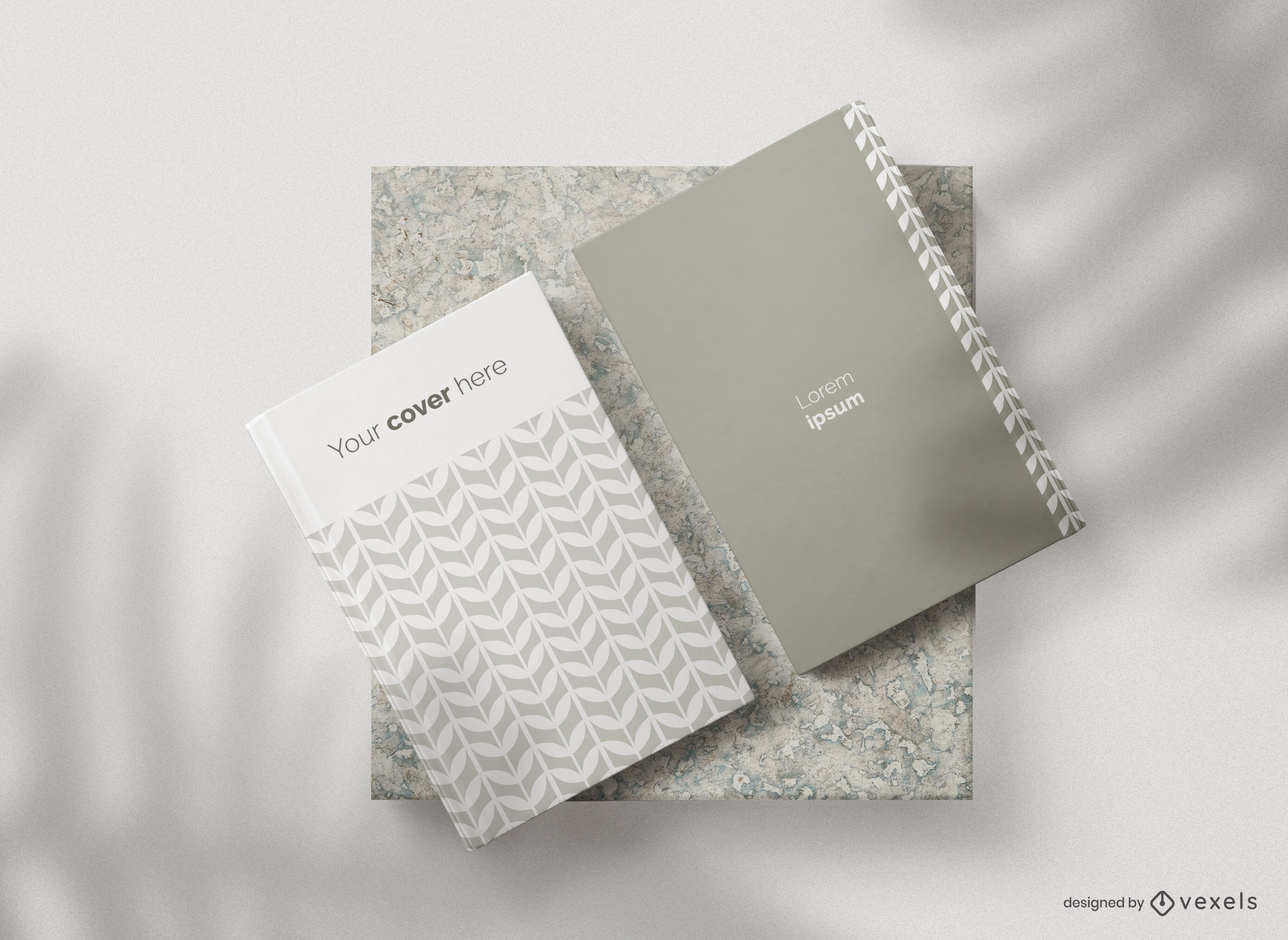 Book covers mockup composition