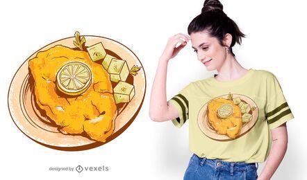 Diseño de camiseta Wiener Schnitzel