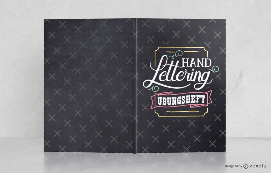 Hand Lettering German Book Cover Design