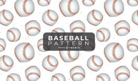 Muster-Vektor-Baseball