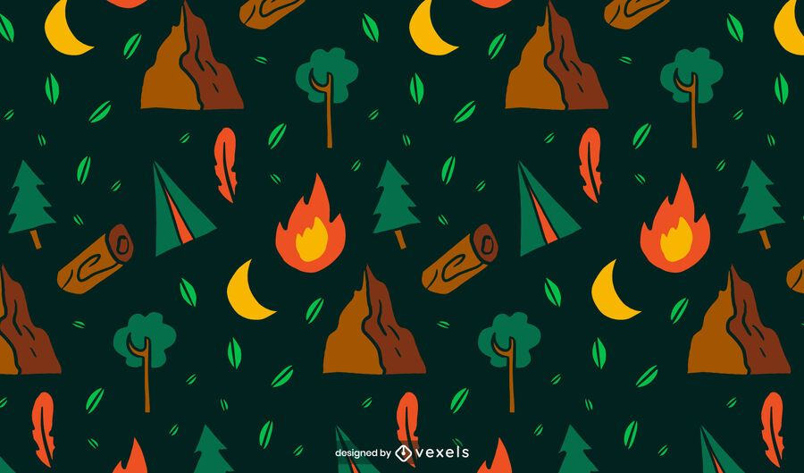 Camping Muster Design