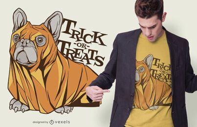 Diseño de camiseta de truco o trato