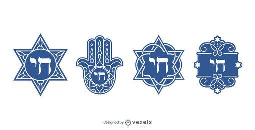 Paquete de diseño de símbolo Chai