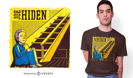 Design de camiseta Joe Hiden