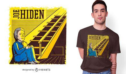 Joe versteckt T-Shirt Design