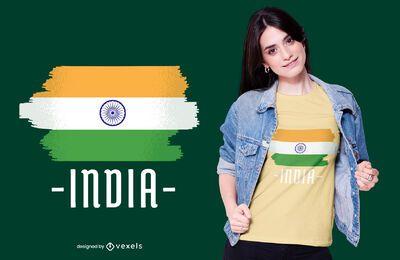 Indian national flag t-shirt design