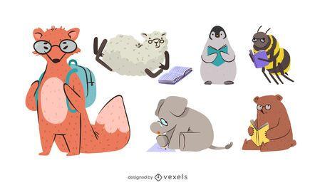 Study Animals Design Pack