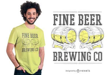 Brewing co t-shirt design