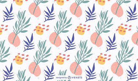 Abstract plants pattern design