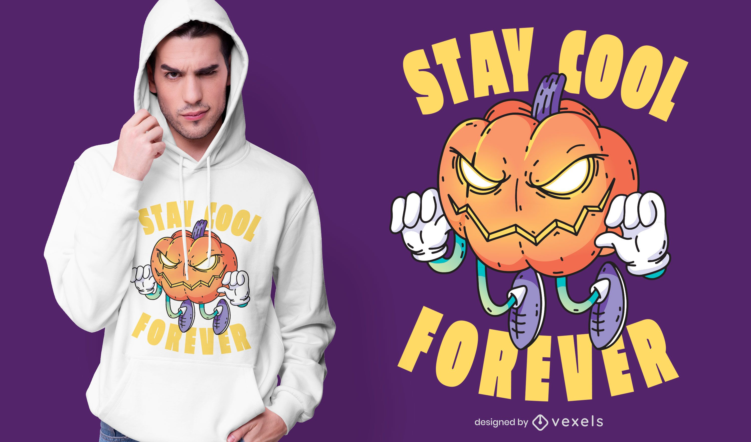 Stay cool forever t-shirt design