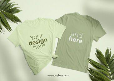 Diseño de maqueta de camiseta