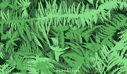 Jungle leaves background design