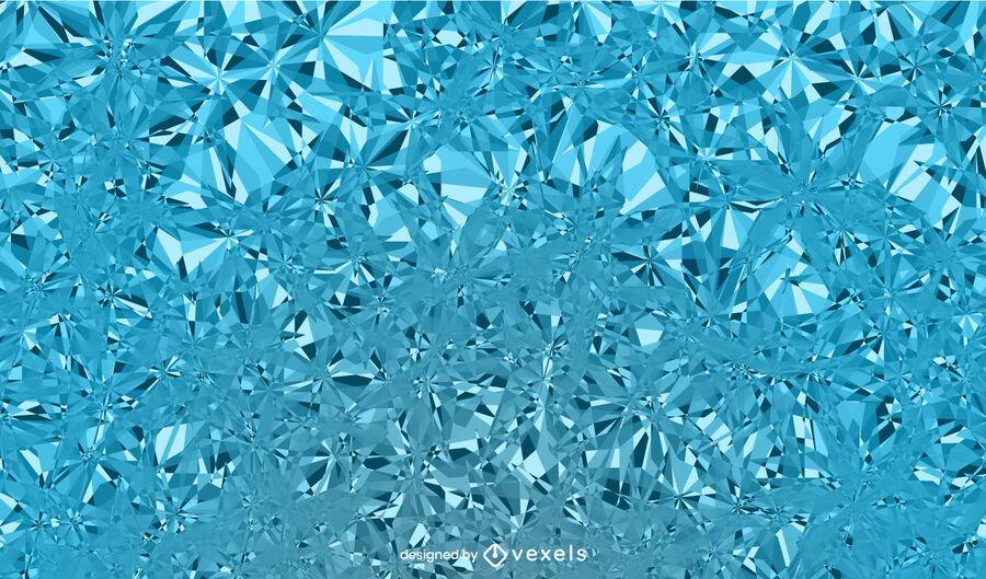 Diseño de fondo de hielo helado