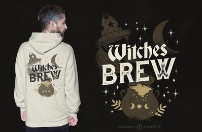 Witches brew t-shirt design