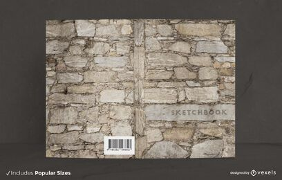Stone wall book cover design