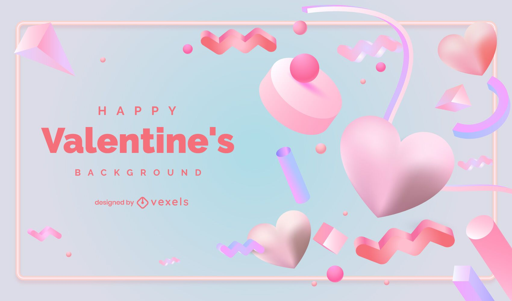 Valentine's day background design